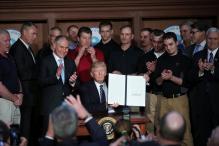 Trump Signs Order Sweeping Away Obama-era Climate Policies
