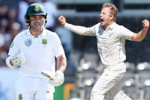 South Africa's Dean Elgar and New Zealand's Neil Wagner Keen to Renew Schoolboy Rivalry