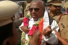 Former Congress MP V Hanumantha Rao Booked For Abusing Police Official