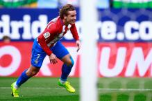 Torres Watches as Griezmann Lifts Atletico Madrid to Fourth