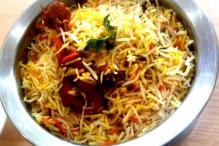 No Geographical Indications Tag for Hyderabadi Biryani