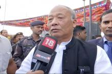 CM Okram Ibobi Confident Of Congress Win In Manipur
