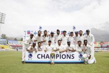India Thrash Australia At Dharamsala in Grandstand Finish to Home Season