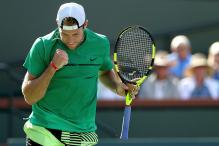 Indian Wells: Sock Gives Nishikori the Boot, Books Federer Clash in Semis