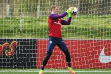 England Goalkeeper Hart Gives Thumbs Up to New-look England