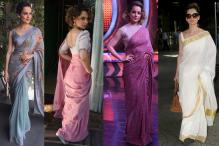 Birthday Special: Kangana Ranaut Is Acing The Sari Game Like No One Else