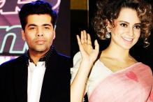Guess What Karan Johar Would Do on Hearing Kangana Ranaut's Name