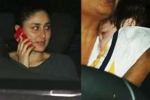 Pictures Of Kareena's First Outing With Baby Taimur Are Going Viral