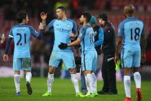 Sergio Aguero On Target as Manchester City Go Third