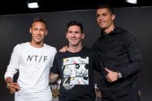 Cristiano Ronaldo, Lionel Messi, Neymar on FIFA Best Player Shortlist