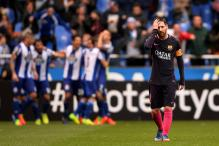 Barcelona Stunned by Deportivo La Coruna in La Liga