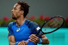 Injured Gael Monfils Out of France Davis Cup Squad