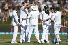 Grass on New Zealand Wicket Delights South Africa