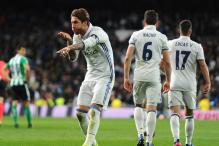 Sergio Ramos Strikes as Real Madrid Beat Real Betis 2-1