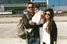 Sakshi Dhoni Teaches Ziva Names of IPL Teams
