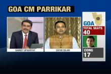 Manohar Parrikar Stakes Claim To Form Government in Goa