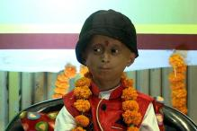 Kid Suffering From Progeria Made Child Rights Commission Chairman For a Day