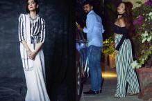 Sonam, Malaika Look Drop Dead Gorgeous In Monochrome Stripes