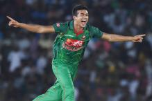 Taskin Ahmed Becomes 5th Bangladesh Bowler to Take ODI Hat-trick
