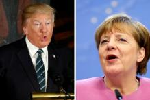 Trump, Germany's Merkel to Hold First Face-to-Face Meeting at White House