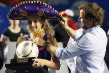 Lesia Tsurenko Downs Kristina Mladenovic for Acapulco WTA Title