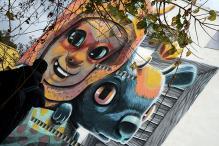 Street Art Revives Divided Spanish Village
