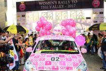 Over 800 Women Compete in Mumbai Rally ahead of International Women's Day