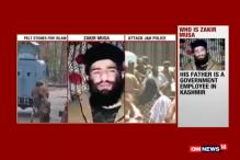 Watch: Burhan Wani's Successor Zakir Musa 'Thanks' Kashmir's Stone Pelters
