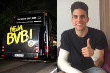 Bomb Victim Bartra Back in Training: Borussia Dortmund