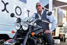 The Triumph Rocket III is Dwayne 'The Rock' Johnson's Choice for Rampage