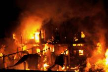 SSB Camp Office, 45 Shops Gutted in Massive Fire in Jammu's Doda District