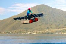 Flying Cars Made Real by Silicon Valley Startup 'Kitty Hawk'