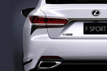 Lexus LS 500 F Sport to be Unveiled at New York Auto Show