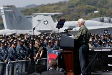 US Vice President Pence says to North Korea: 'The sword stands ready'