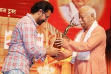 Aamir Khan, Lata Mangeshkar, Mohan Bhagwat, Kapil Dev at Dinanath Mangeshkar Awards