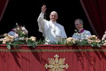 On Easter, Pope Francis Denounces 'Oppressive Regimes' But Urges Restraint