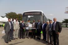 Tata Motors Delivers First Lot of Low-Floor Buses Order to Abidjan