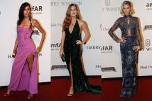 Red Carpet Arrivals at The Foundation for AIDS Research