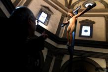 Michelangelo Crucifix Gets Pride of Place in Florence