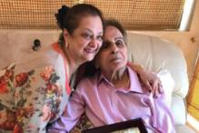 Dilip Kumar Honoured With Living Legend Lifetime Award At His Residence