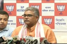 FIRs Lodged Against West Bengal BJP President Dilip Ghosh