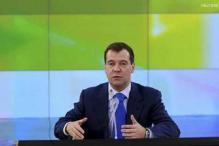 Russia PM Medvedev Slams 'Unfair and Unlawful' IOC Verdict