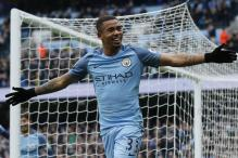 Manchester City's Jesus in Line for Wembley Return Against Arsenal