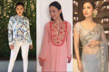 Gauahar Khan Ups The Fashion Quotient During Begum Jaan Promotions