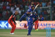 IPL 2017: Krunal & Pollard Take MI Home After Badree Hat-trick