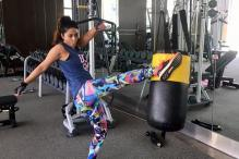 Hina Khan's Workout Session Will Give You Fitness Goals