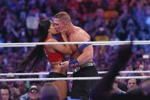 John Cena Pops the Question to Nikki Bella Inside WrestleMania Ring
