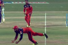Virat Kohli Stuns With Scorcher of a Catch