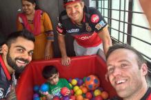 IPL 2017: Virat Kohli Takes A Break to Meet Specially Abled Children