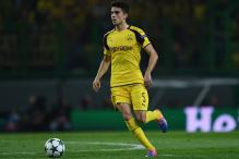 Bomb-blast Victim Marc Bartra Back in Dortmund Team